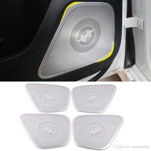 الاكسسوارات المتكلم غطاء GLB-Class لوحة سيارة ملصق مكبرات الصوت 2021-2021 لمرسيدس-بنز X247 تقليم الداخلية الباب الإطار الصوت gvlmd
