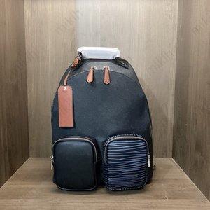 Fashion Unisexe Sac à dos Voyage en plein air Sac de voyage Classic Letter Logo Design Grande capacité 30cm Bourse de haute qualité