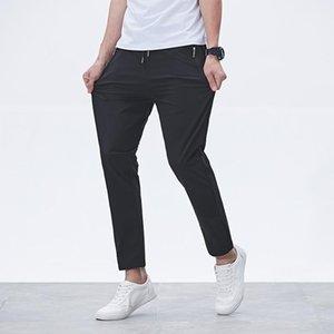 Мужские брюки 2021 осень на улице Мужчины случайные активные упражнения физические брюки мужские сплошные цветные спортивные штаны удобные 8xL