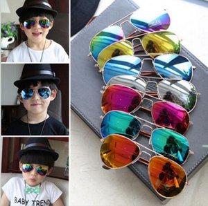 Niños Girls Boys Sunglasses Kids Beach Supplies UV Protective Eyewear Baby Fashion Sunshades Gafas