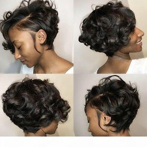Short Pixie Cut Wig Curly Human Hair Wig For Women Beaudiva Human Hair Wigs Remy Curly High Density Glueless