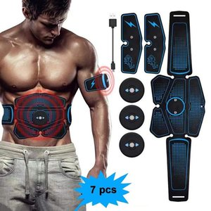 Abdominal Muscle Trainer Electric Press Stimulator Slimming Fitness EMS Exercise Machine Home Gym Equipment Training