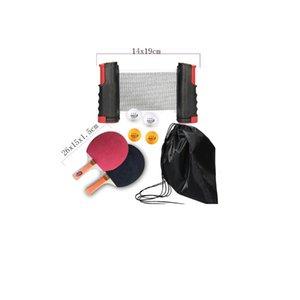 الصفحة الرئيسية بونغ مجموعة مع الكرة والجدول الصافي مضرب تنس المجاذيف الخفافيش pingpong التدريب الملحقات الرياضية الداخلي