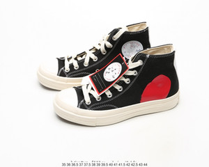 Converse shoes Mens Boots COMMEs des GARCONS PLAY Chuck 1970 Scarpe casual per ragazza Tayler Vulcanized Sneakers Boy Skateboarding Womens Skate taglia 35-44