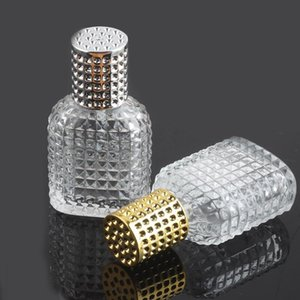 30 50ml Pineapple Glass Perfume Bottle Spray Empty Atomizer Refillable Dispenser Travel Portable Cosmetic Container