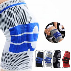 Elastic Knee Support Brace Kneepad Adjustable Patella Volleyball Pads Basketball Safety Guard Protector