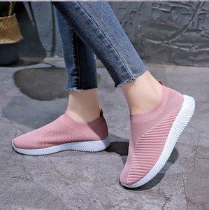 Women Knit Sock Shoe Paris Designer Sneakers Flat Platform Lightweight Trainers High Top Quality Mesh Comfortable Casual Shoes 7 Colors