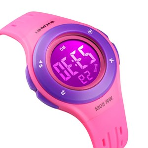 Girls Skmei For Children Watch Child Kids Silicone Electronic And Digital Quartz Clock Wristwatches 21ss