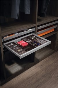 Living room, bedroom furniture, aluminum frame, artificial leather jewelry box, indoor storage items, customized factory direct sales