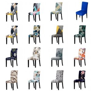 Elastic Universal Size Big Christmas Cheap Stretch Chair Cover Seat Slipcovers For Dining Room Hotel Banquet Home DHC1599