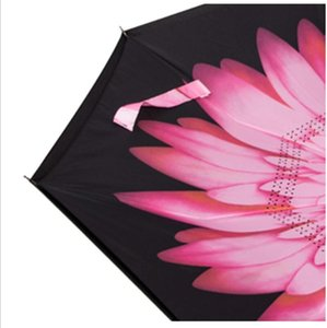 Reverse Windproof Umbrella Creative Inverted Umbrellas with C Handle Double Layer Inside Out Everted Parachute Umbrella sea shipping OOD6338