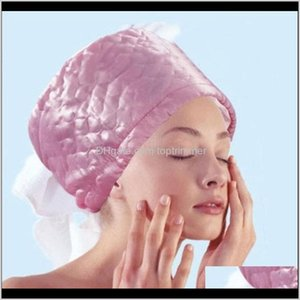 Care & Styling Tools Products Drop Delivery 2021 3 Grades Electric Thermal Treatment Spa Steamer Cap 100Percent Quality Hair Nourishing Tool