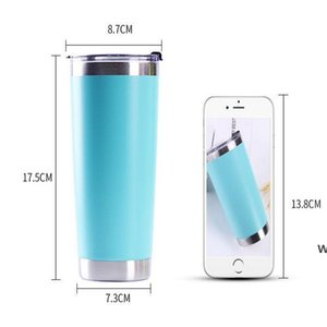 Stainless Steel Coffee Mug 20oz Vacuum Insulated Tumbler Sublimation cups Double Wall Water Bottle Travel Mugs sea ship DHE6025