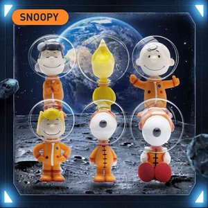 Genuine Snoopy spaceman series blind box cute doll car tabletop decoration trend