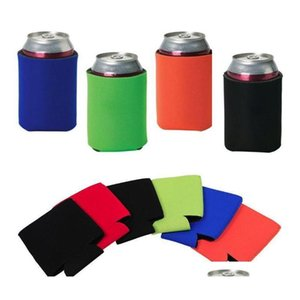 Kitchen Tools Kitchen, Dining Bar Home & Garden Drop Delivery 2021 Wholesale 330Ml Beer Cola Drink Can Bag Ice Sleeves Zer Pop Holders Koozie