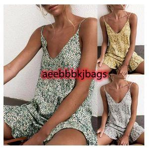Cover-ups 2021 Selling Elegant Women Holiday Beach Bikini Cover Up Boho Casual Party Sun Mini Dress Sundress High Quality1