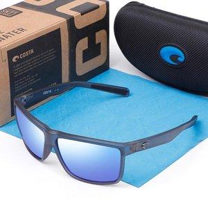 580p Rinconcito Square Gafas de sol Hombres Costa Marca Diseño Deporte Espaljos polarizados Recubrimiento Ejecución Gafas Hombre UV400 Oculos