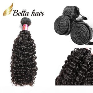 Bella Hair? Top Quality Cheap Virgin Hair Extensions Curly Wave Human Hair Bundles New Arrival Deep Curly Wave 1pc Unprocessed Hair Weave