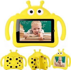 DHL free -Lightweight Kids ShockProof EVA Foam Stand Tablet Case for iPad 9.7 air Mini 5 4 3 2 1 Children Cover -Beetle Series