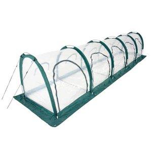 5 * 1 * 1 м Мини-всплывающие домохозяйственный дом садовый парник туннель крытый открытый задворк защитник складной портативный садоводство приют