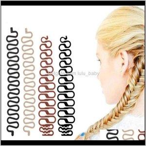 Bun Maker Styling Outils Updo Fashion Up Accessoires Commode Rouleau de tresse Français avec Magic Hair Twist Barber Tresser Lnqth 0B5CF