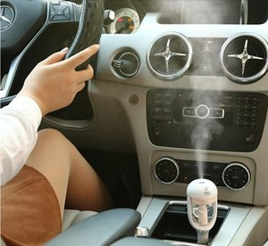 12V Car Humidifiers Air Freshener Auto Diffuser Aromatherapy Sprayer Add Water Mist Moaker Fogger Steam Purifier Fragrance Atomizer