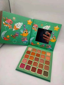 Waterproof 25 Colors Matte & Shimmer Eye Shadow Palette Makeup For Women Beauty Brighten Color Pressed Powder Eyes Cosmetics Natural Long Lasting 2 Shades DHL Free