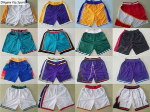 Man Just Don Short With Pocket Zipper Sport Shorts Pant Cheap City Earned White Yellow Blue Purple Green Black Top Quality Drop Shipping