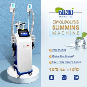 Professional Cryolipolysis Fat Frozen 40K Cavitation RF Lipo Laser Liposuction Slimming Machine