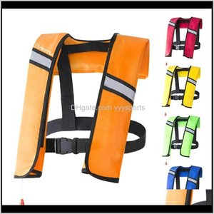 Buoy Inflatable Adult Life Vest Water Sports Survival Jacket For Kayaking Swimming Fishing Boat Tqpqd Ty0Qk