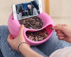 2021 Vegetable Tools Fruit Creative Lazy Plate Melon Plastic Seeds Bowl