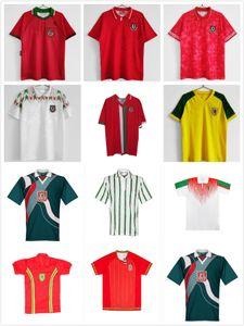 1995 1996 1994 Gales Retro Jerseys de fútbol 94 95 96 Giggs Hughes Saunders Rush Boden Speed Uniformes clásicos Camisetas de fútbol