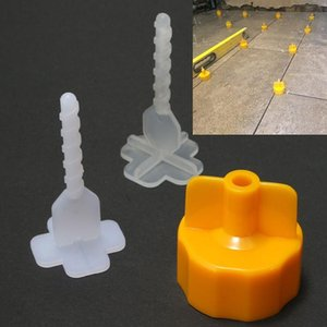 Craft Tools 100pcs Professional Tile Leveling System Spacer Flooring Base Cap Strap Device Tool