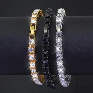 Trendy Tennis Bracelet For Women Girls Luxury Micro Crystal Braslet Gold Silver Color Chain Bracelet&Bangles Jewelry Gift Link,