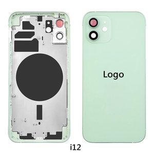 Back Cover Fram Housing Chassis Rear with Glass Battery Full Assemblyiddle For iPhone 11 pro 7 8 X XR XS Max