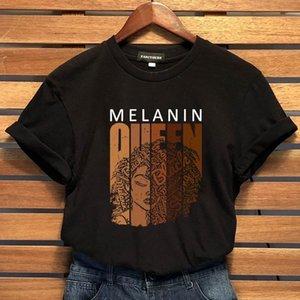 Letter Print T Shirt Women Streetwear Harajuku Tees Melanin T Shirts Female Hipster Faith Slogan t-shirt Tops