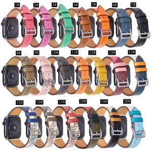 حزام الساعة ل Apple Watch Strap IWatch Leather Strap Trud لإرسال حزام