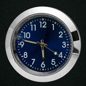 Car Clock Luminous Mini Automobile Internal Insert Type Digital Watch Mechanics Quartz Clocks Automotive Decoration Accessory Gift BC BH3510
