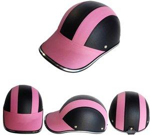 Motorcycle Helmets Unisex Fashion Baseball Cap Bike Riding Protective Leather Multi-color Gorras De Beisbol