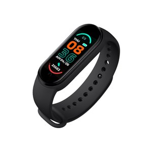 M6 Smart Wristbands Universal Bracelet Heart Rate Blood Pressure Fitness Tracker Monitor Color Screen IP67 Waterproof Sports Watch for Android iOS
