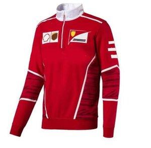 2021F1 World Formula One Series Auto logo Logo Racing Fan Long Sleeve Felpa con cappuccio