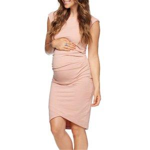 Dresses Miley women's solid sleeveless maternity summer new women's