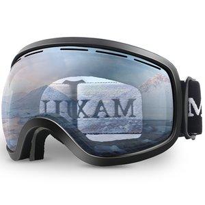 Ski GogglesWinter Snow Sports with Anti-fog Double Lens ski mask glasses skiing men women snow goggles M3