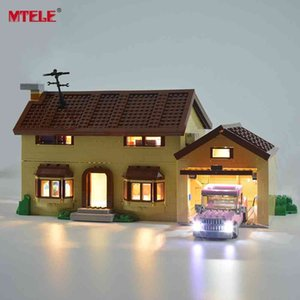 MTELE Led Light Kit For 71006 Simpson House Compatible With 16005 (NOT Include The Model) 210416