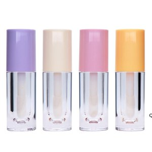DIY Lip Gloss Tubes 6.5ml Refillable Lip Balm Eyeliner Tube Mascara Containers Packaging Beauty Sample DHF6253