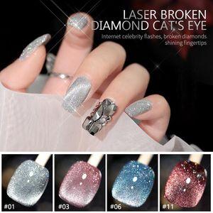 Nail Polish 1Pc Professional Diamond Model Gel UV Glue Crystal Extension Fast-drying Lasting Explosive Art TSLM2