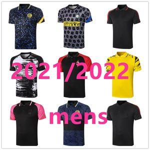 Поло майки дизайнерские рубашки мужские футбольные джерси Maillot de foot 2021 2022 мужской футболист версия Camisa futebol 111988
