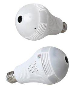 Cameras 960 Wireless Panoramic Lamp Bulb Wifi Home Security Camera CCTV Fisheye 360 Degree HD