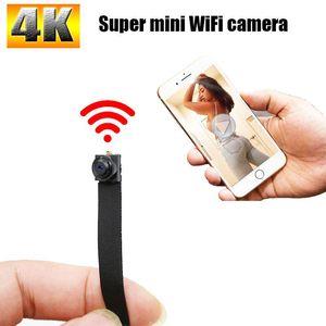 Mini Cameras HD 4K WiFi IP Nanny Camera Module Sports Camcorders P2P Home Security Micra Cam Video Recorder Suport Hidden Tf Card