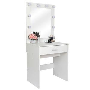 Заправка Taipei Oufeng Мебель для спальни Simple Girls Общежитие роскоши в целом белый со светлой столом дома